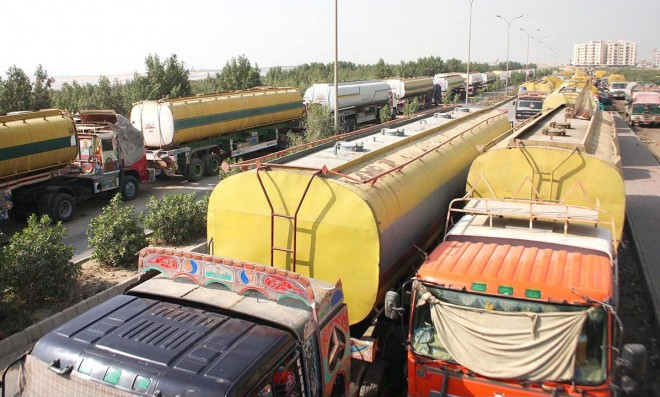 Oil tankers stop supplies to Kashmir, Gilgit, Chitral