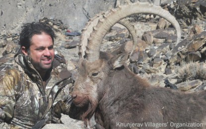 Trophy Hunting Licences: Auction to be held on 20th November