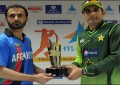Pakistan and Afghanistan's maiden ODI match today