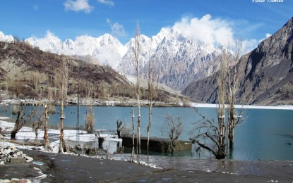 Lake drainage: Water level decreasing in Gojal Valley