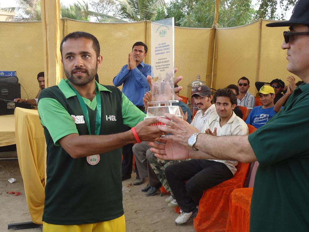 Khudabad has won Rai Ghulamuddin Memorial Cricket Tournament