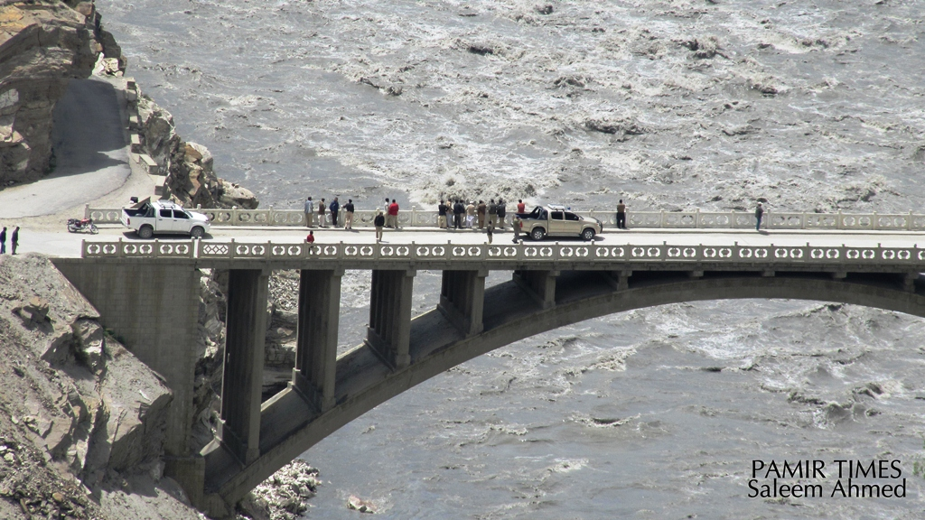 Pictorial – Attabad spillway blasted open