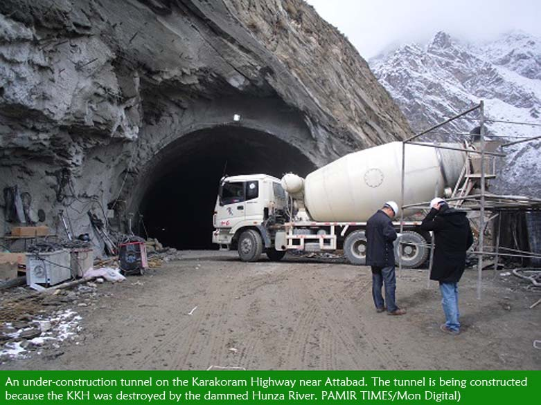 Gojal: Karakoram Highway reconstruction to be completed in 2014