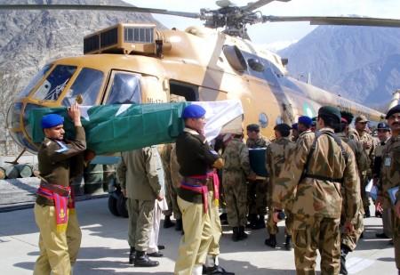 Funeral of Kohistan Martyrs in Gilgit  (2)