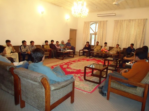 GYC meeting in progress