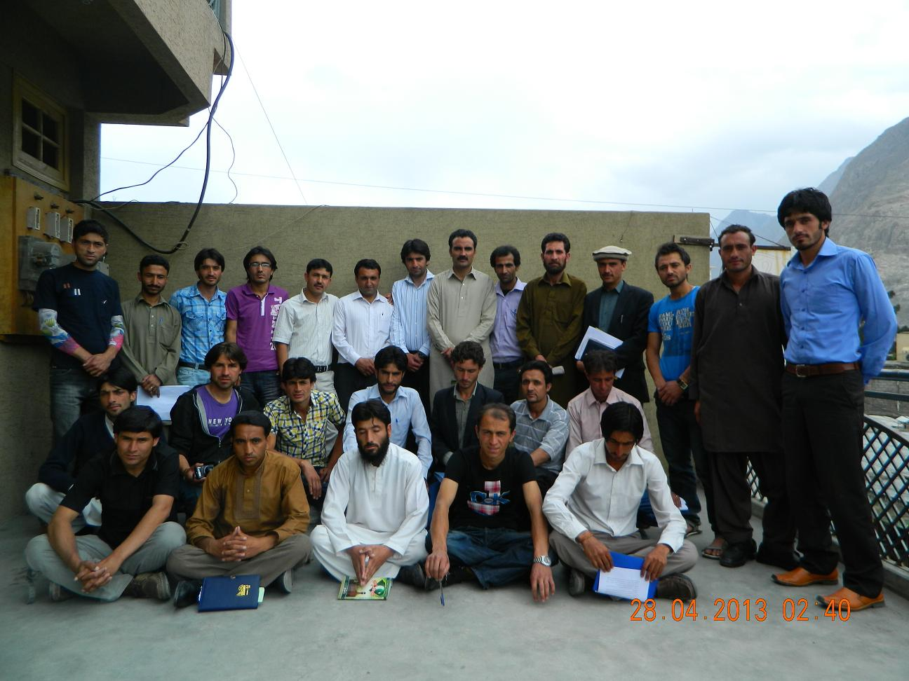 Group photo of members and office  bearers of GYC