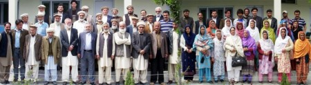 Group photo of participants of the seminar that demanded protection of the rights of senior citizens