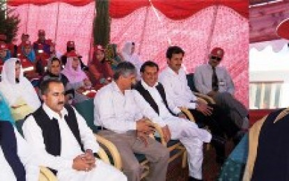 CM announces to allot land for construction of PRCS Complex in Gilgit