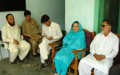 PTI and KP govt lauded for selecting Fauzia Bibi as MPA from Chitral
