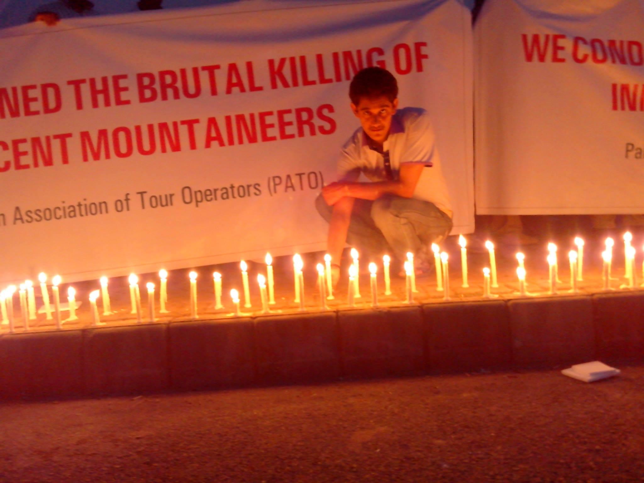 Candle Light Vigil  (11)