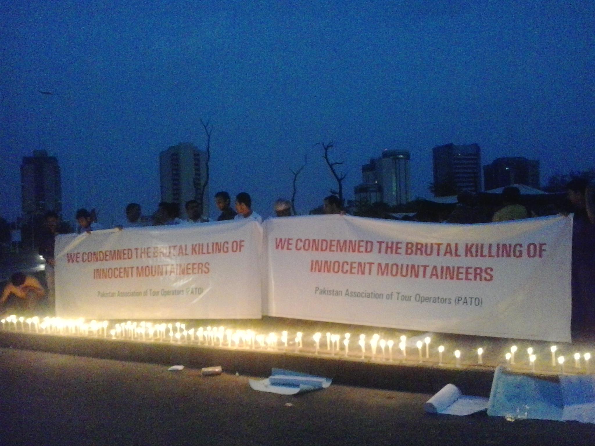 Candle Light Vigil  (4)