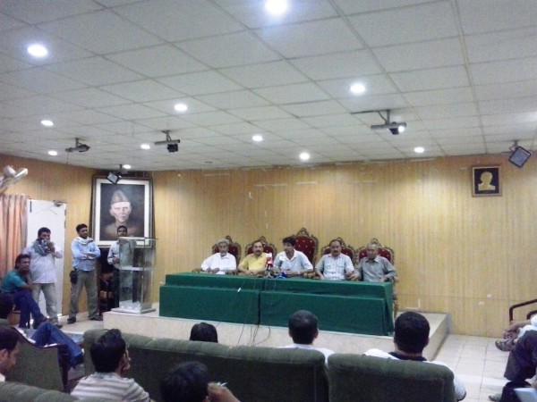 Press Conference in Islamabad