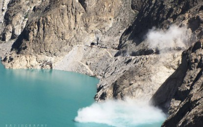 Realignment of KKH underway at fast pace in Hunza Valley
