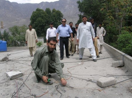 Deputy Director FIA is supervising the drive against illegal connections