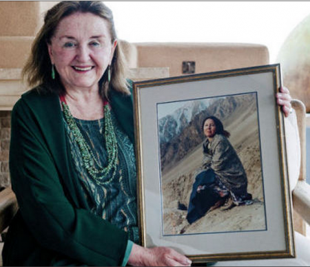 Diana MacArthur is funding construction of a school in a remote region of Pakistan to honor her late daughter who taught there. Katharine Egli/For The New Mexican