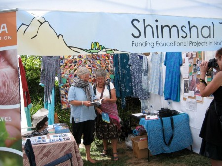 A fund-raising stall in New Zealand
