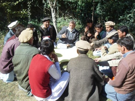 Group discussion in progress during the workshop