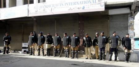 High security alert in Gilgit city