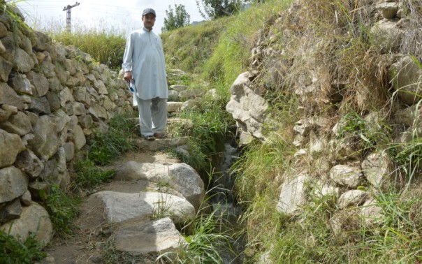 Flood-resilient streams protect mountain farms, villagers in north Pakistan