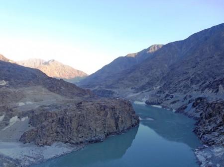 The border row has intensified in the wake of the construction of Diamer-Bhasha dam