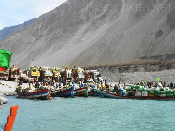 Trade between China and Pakistan has been happening through the Karakuram Highway