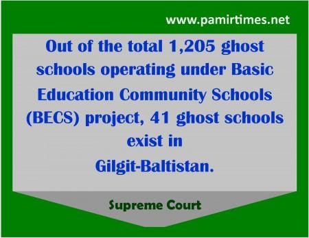 Ghost Schools
