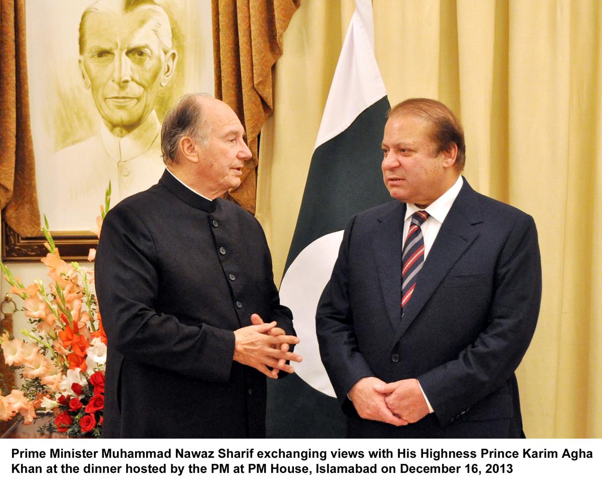 Aga Khan Development Network is a model for other organizations: PM Nawaz Sharif
