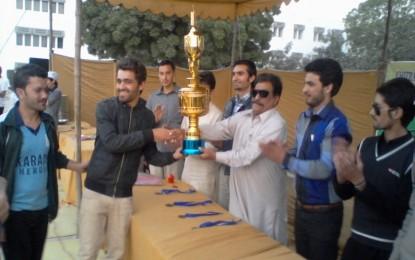 Hunza Kings 11 has won Chitral-Gilgit Premier League 2014