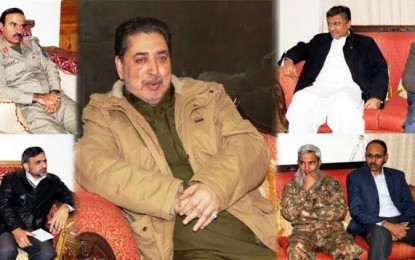 CM advises law enforcing agencies to tighten up security in Gilgit-Baltistan