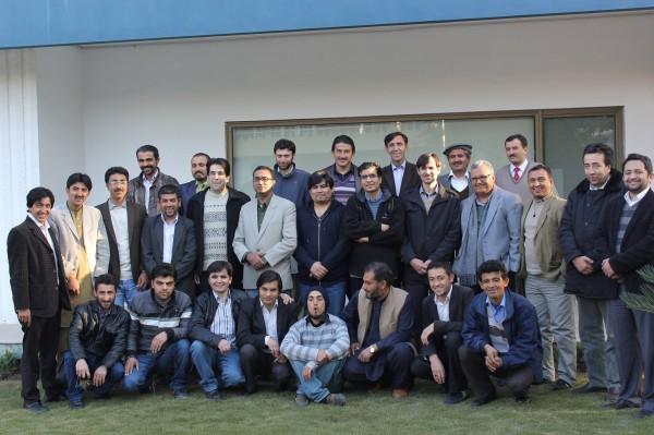 Participants of the training workshop along with the trainers