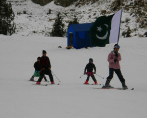 Sadia Khan Ski Championship 2017 starts at Naltar, Gilgit