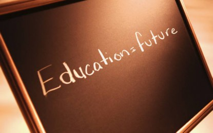 Bright future, with good education