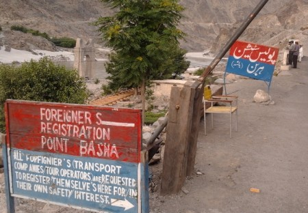 The disputed land has gained importance due to the fact that Diamer-Bhasha dam is being constructed in the region