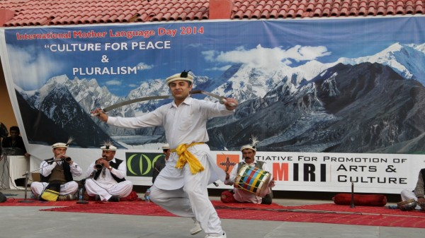 Sword dance is a cherished tradition of Gilgit-Baltistan