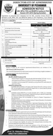 Peshawar University Admission.jpg.,,