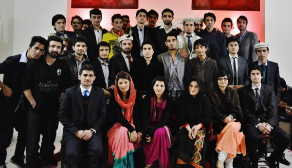 Group photo of the Ravians from Gilgit-Baltistan in Lahore