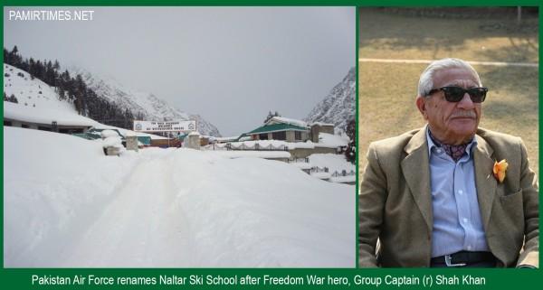 Group Captain Shah Khan , Sitara-e-Jurrat, had played key role in establishing the Naltar School