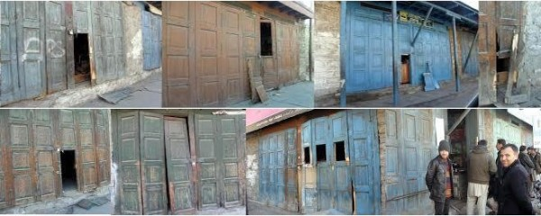 Robbers had broken into around two dozen shops in Jamatkhana Bazar and surrounding areas in the last week of January