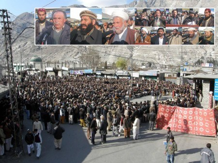 The AAC protest a couple of weeks back was attended by thousands of people in Gilgit