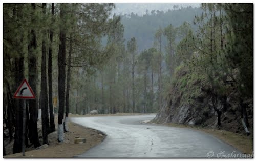 The Karakuram Highway is a highly vulnerable road connecting Pakistan and China through the Gilgit-Baltistan region