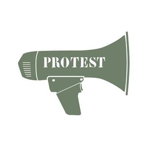 MEDIA PROTEST -  Akela's unjust arrest