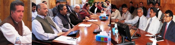 Senator Afrasiab Khattak is a leading a delegation of the Senate Human Rights Committee