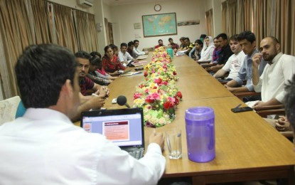 HGISF holds first quarterly meeting in Karachi