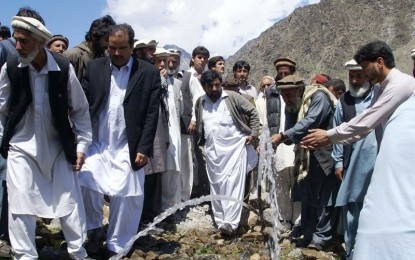 First Solar Irrigation Project inaugurated in Drosh, Chitral