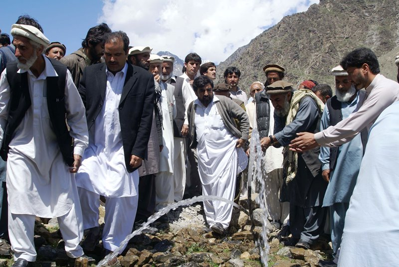 Inaugural ceremony of the solar energy irrigation project