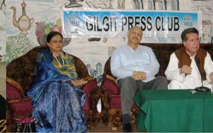 [Audio] Empowering laws absent in Gilgit-Baltistan: Afrasiab Khan Khattak