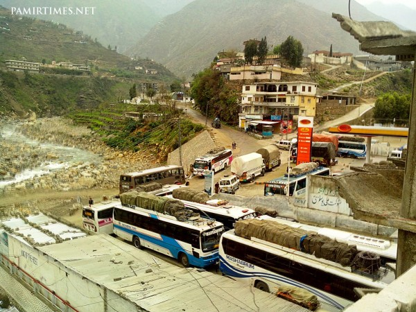 Passengers are stranded on the KKH for the last three days waiting for the road to open