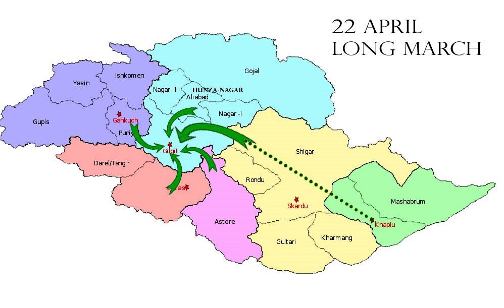 """Awami Action Committee Gilgit-Baltistan braces for """"historical long march"""""""
