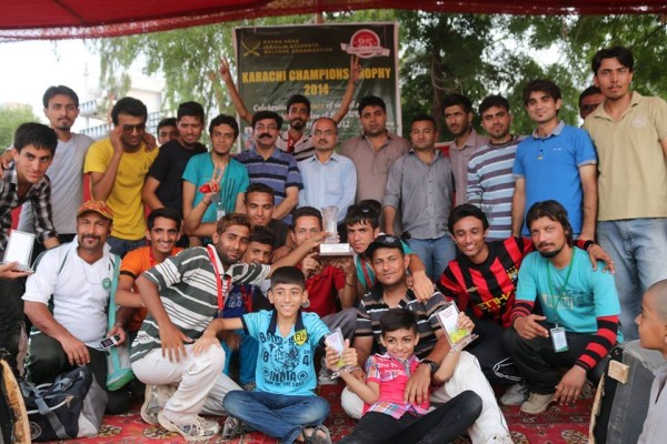 Karachi: Group photo after the prize distribution ceremony