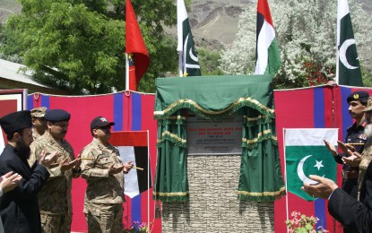 Chitral: Ground breaking ceremony of Women Vocational Training Center held